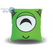 Kit com 10 Almofadas Cute Baby Personalizada Monstros SA Mike