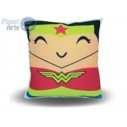 Kit com 10 Almofadas Cute Baby Personalizada Mulher Maravilha