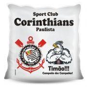 Almofada Quadrada Personalizada do Corinthians