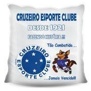 Almofada Quadrada Personalizada do Cruzeiro