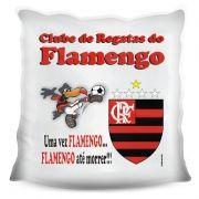Almofada Quadrada Personalizada do Flamengo