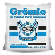 Almofada Quadrada Personalizada do Grêmio