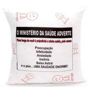 Almofada Quadrada Personalizada Namorados Ministério do Amor