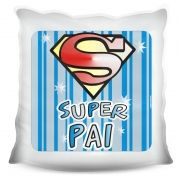 Almofada Quadrada Personalizada Super Pai
