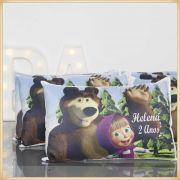 Almofadas Coloridas Infantil Personalizadas Lembrancinhas para festa Aniversário Brinde para Crianças - Kit com 10 unidades Tamanho 20x30cm