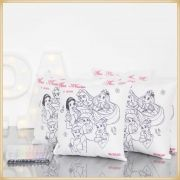 Almofadas para Pintar Personalizadas para lembrancinha de aniversário brindes de colorir para festa