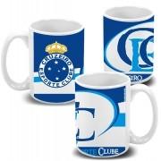 Caneca de Porcelana Personalizada do Cruzeiro