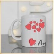Caneca personalizada para Namorados Amo Você