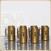 Canecas de acrílico para casamento Lembrancinhas para Padrinhos - Kit com 10 unidades