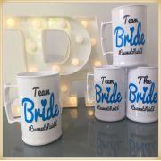 Canecas de acrílico personalizadas casamento - kit com 50