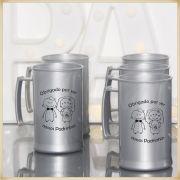 Canecas de casamento Lembrancinhas para Padrinhos  - Kit com 10 unidades