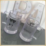 Canecas de gel personalizadas casamento - kit com 50