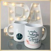 Canecas de porcelana personalizadas brindes para festas e eventos comerciais, lembrancinhas para casamento noivos e padrinhos