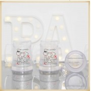 Canecas para padrinhos de casamento - Gel congelante kit com 30 unidades