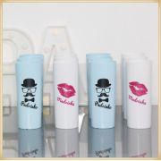 Copos Long drink personalizado para casamento - Kit com 100
