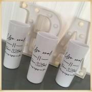 Copos long Drink Personalizados para Formatura - estampa qualidade, brilhante, ótimo acabamento, parede 2,5 mm, resistente, 325 ml. kit 100 unidades