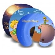 Kit com 10 Almofadas de Pescoço Lembrancinha Personalizada Pequeno Príncipe