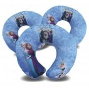 Kit de 10 Almofadas de Pescoço Lembrancinha Personalizada Frozen