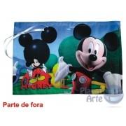 Kit de 10 Lousas Portáteis Personalizadas Lembrancinhas - Mickey e sua Turma