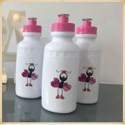 Squeeze Personalizado de plástico - prático e durável, estampa brilhante de alta qualidade, volume 500 ml, resistente a quedas. - kit 30 unidades