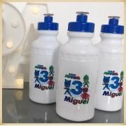 Squeeze Personalizado de plástico - prático e durável, estampa brilhante de alta qualidade, volume 500 ml, resistente a quedas. - kit 40 unidades