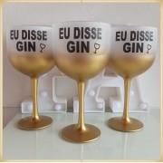 Taça de gin degradê personalizada Despedida de Solteira - produto de alta qualidade, brilhante, ótimo acabamento, parede de 2,5 mm, material atóxico, 580 ml. Kit 30 unidades
