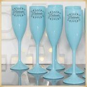 Taças de acrílico para Casamento Lembrancinhas para Padrinhos - Kit com 10 unidades