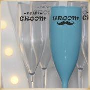 Taças de acrílico personalizadas casamento - Kit com 50