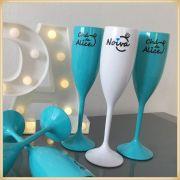 Taças de acrílico Personalizadas Casamento - acrílico de qualidade, brilhante, ótimo acabamento, parede de 2,0mm, produto Atóxico, 190ml. kit 50 unid.