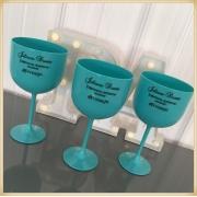 Taças de gin personalizadas Formatura - alta qualidade, brilhante, ótimo acabamento, parede de 2,5 mm, material atóxico, 580 ml - kit com 10 unidades
