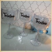 Taças de gin personalizadas - kit com 15 unidades