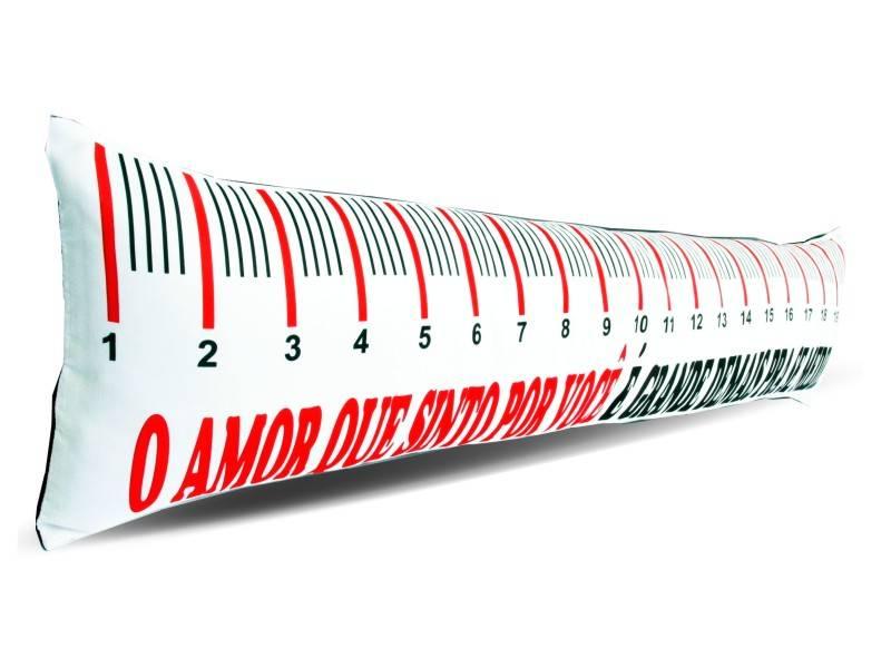 Almofada de Metro Personalizada Amor sem Medidas