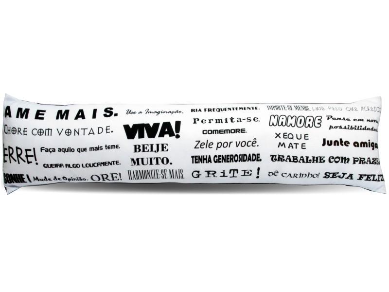 Almofada de Metro Personalizada Divertidas Ame Mais