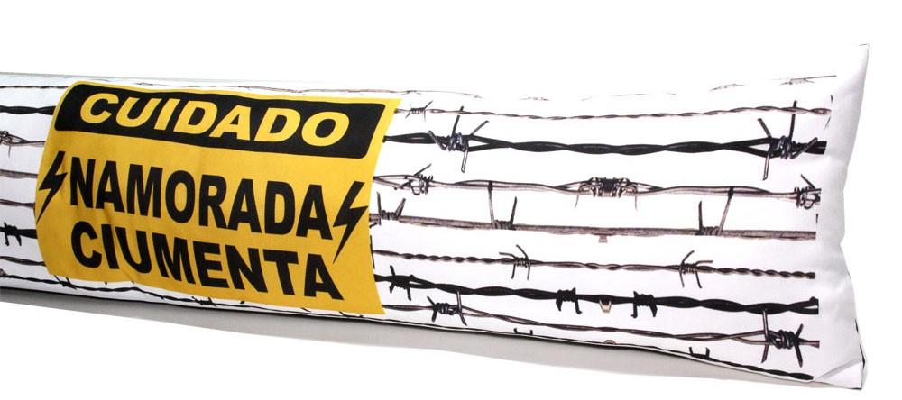 Almofada de Metro Personalizada Namorada Ciumenta