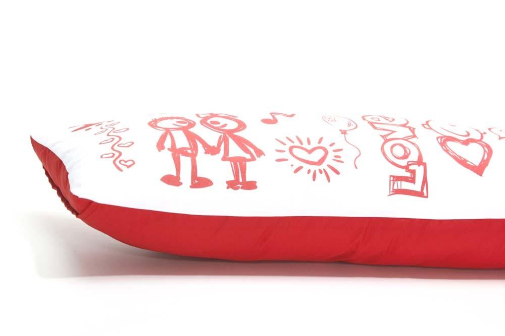 Almofada de Metro Personalizada Namorados LOVE