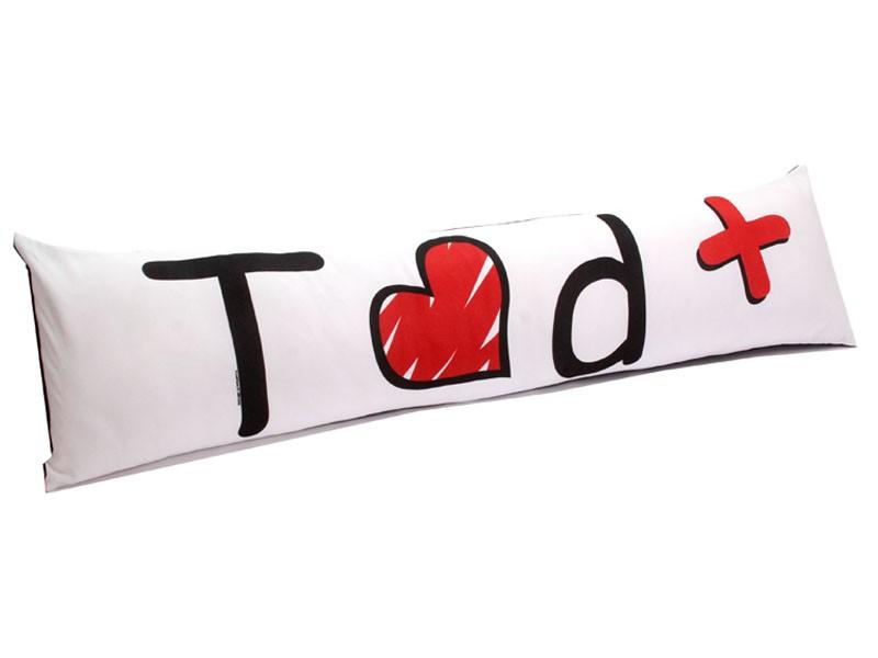 Almofada de Metro Personalizada Namorados Te Amo Demais