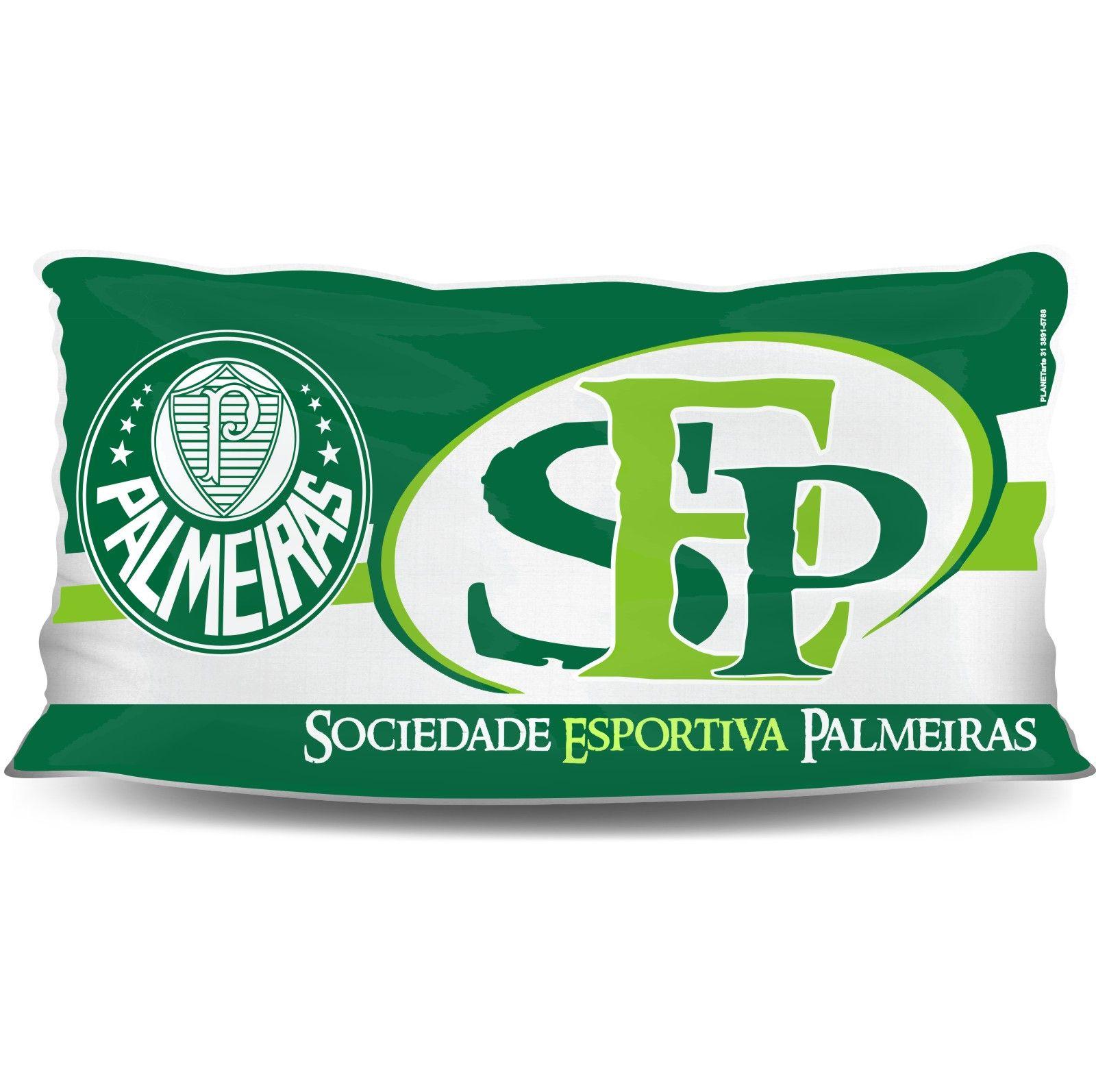 Almofada Palito Personalizada do Palmeiras