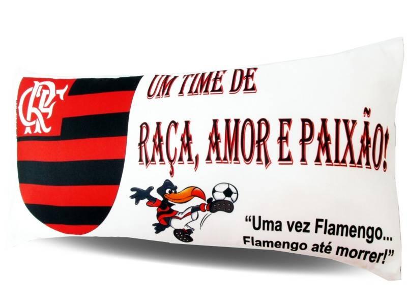 Almofada Palito Personalizada Flamengo Mengão
