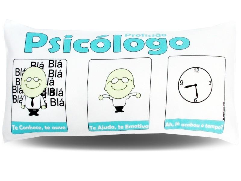 Almofada Palito Personalizada Profissão Psicologo