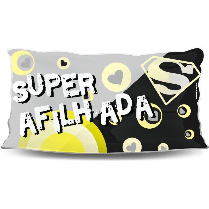 Almofada Palito Personalizada Super Afilhada