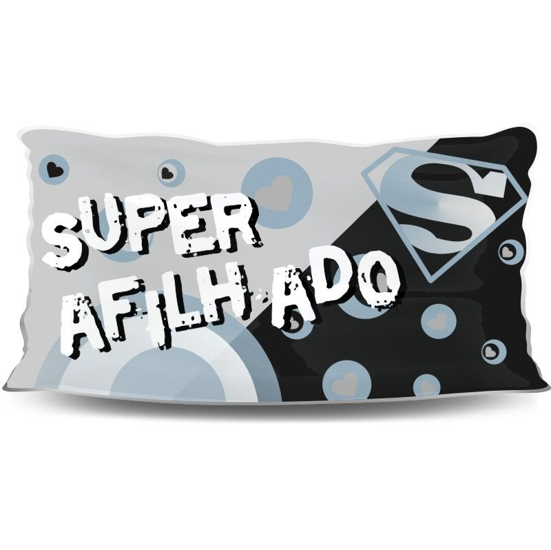Almofada Palito Personalizada Super Afilhado
