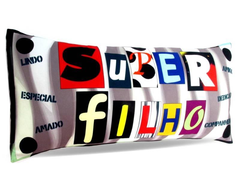 Almofada Palito Personalizada Super Filho