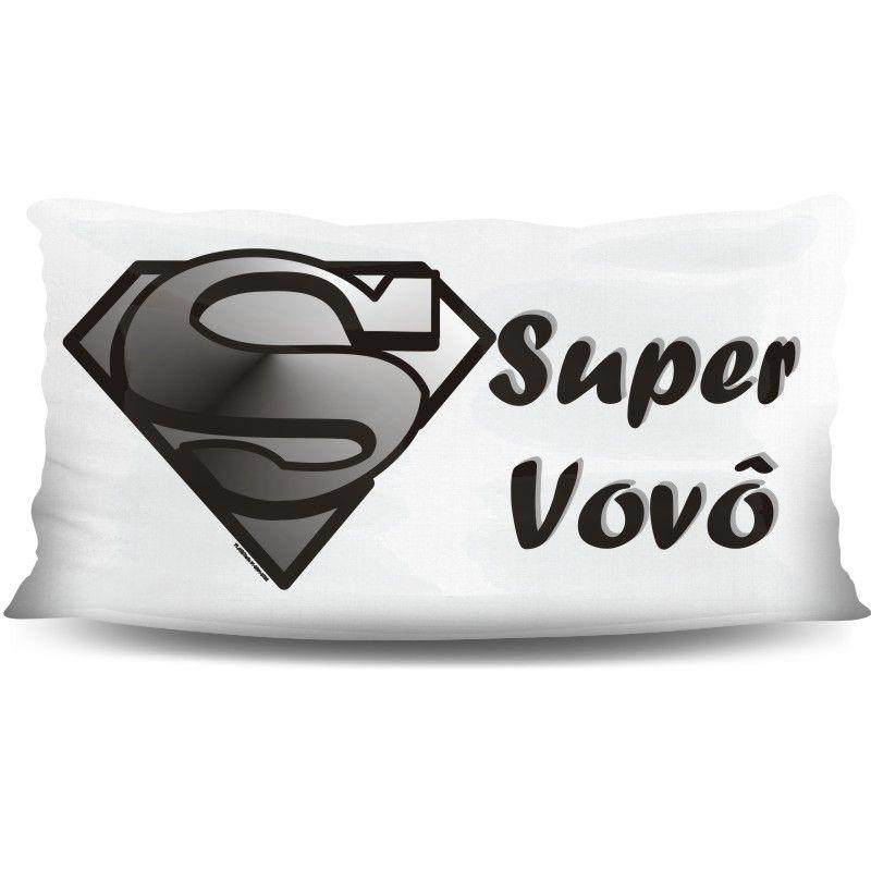 Almofada Palito Personalizada de Avós Super Vovô