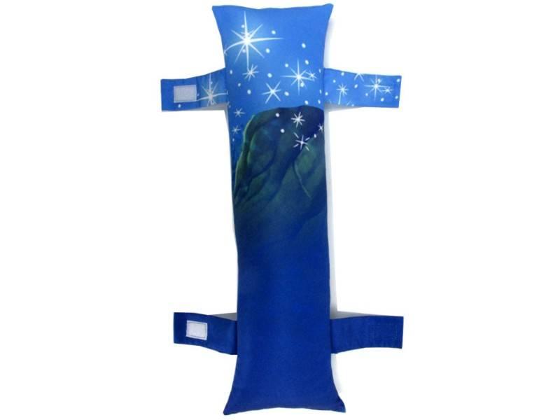 Almofada protetor para Cinto de Segurança para caros com estampa Personalizada Infantil - Ariel a Pequena Sereia 4