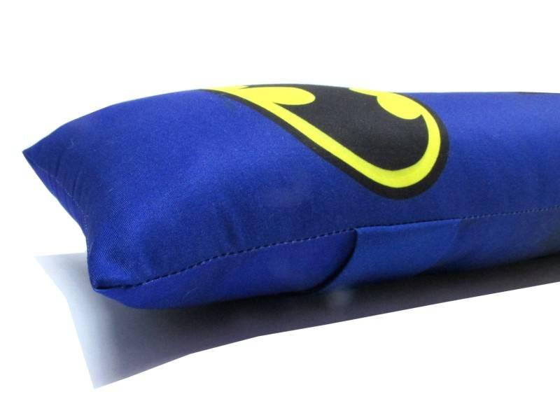 Almofada protetor para Cinto de Segurança para caros com estampa Personalizada Infantil - Batman
