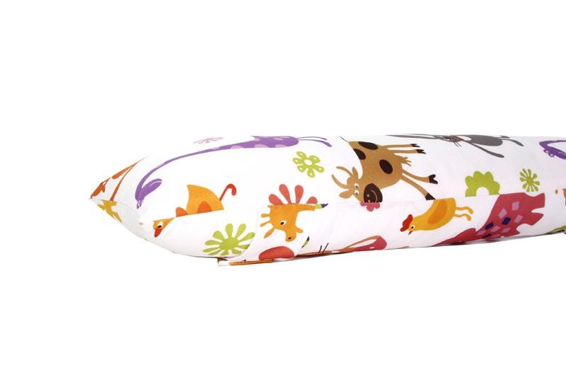 Almofada protetor para Cinto de Segurança para caros com estampa Personalizada Infantil - Bichinhos Color