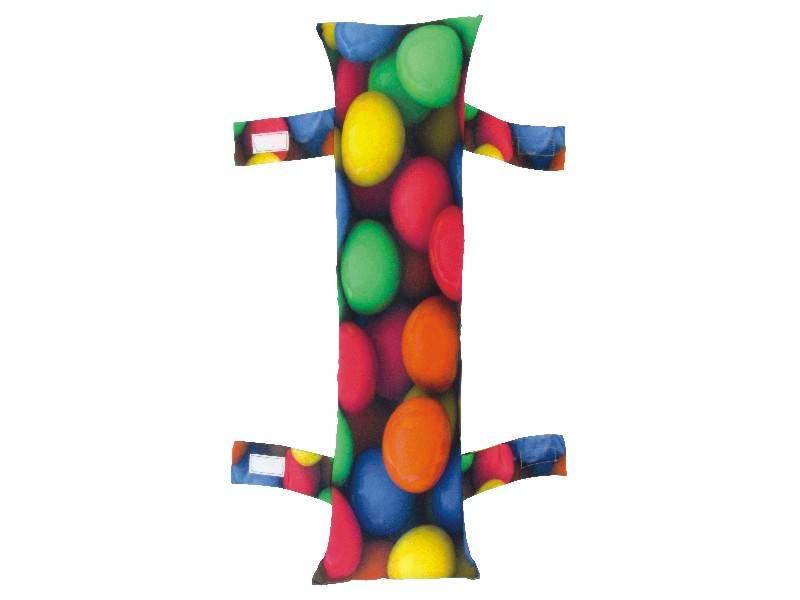 Almofada para Cinto de Segurança Personalizada - Bolinhas Color