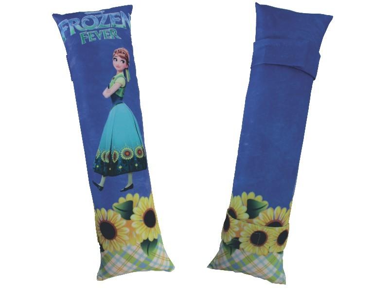 Almofada para Cinto de Segurança Personalizada - Frozen Anna