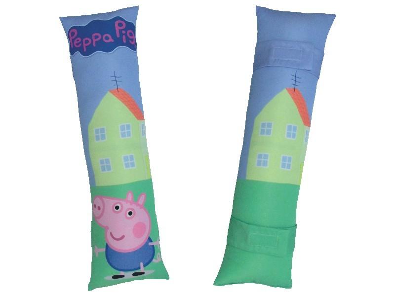Almofada para Cinto de Segurança Personalizada - George Pig