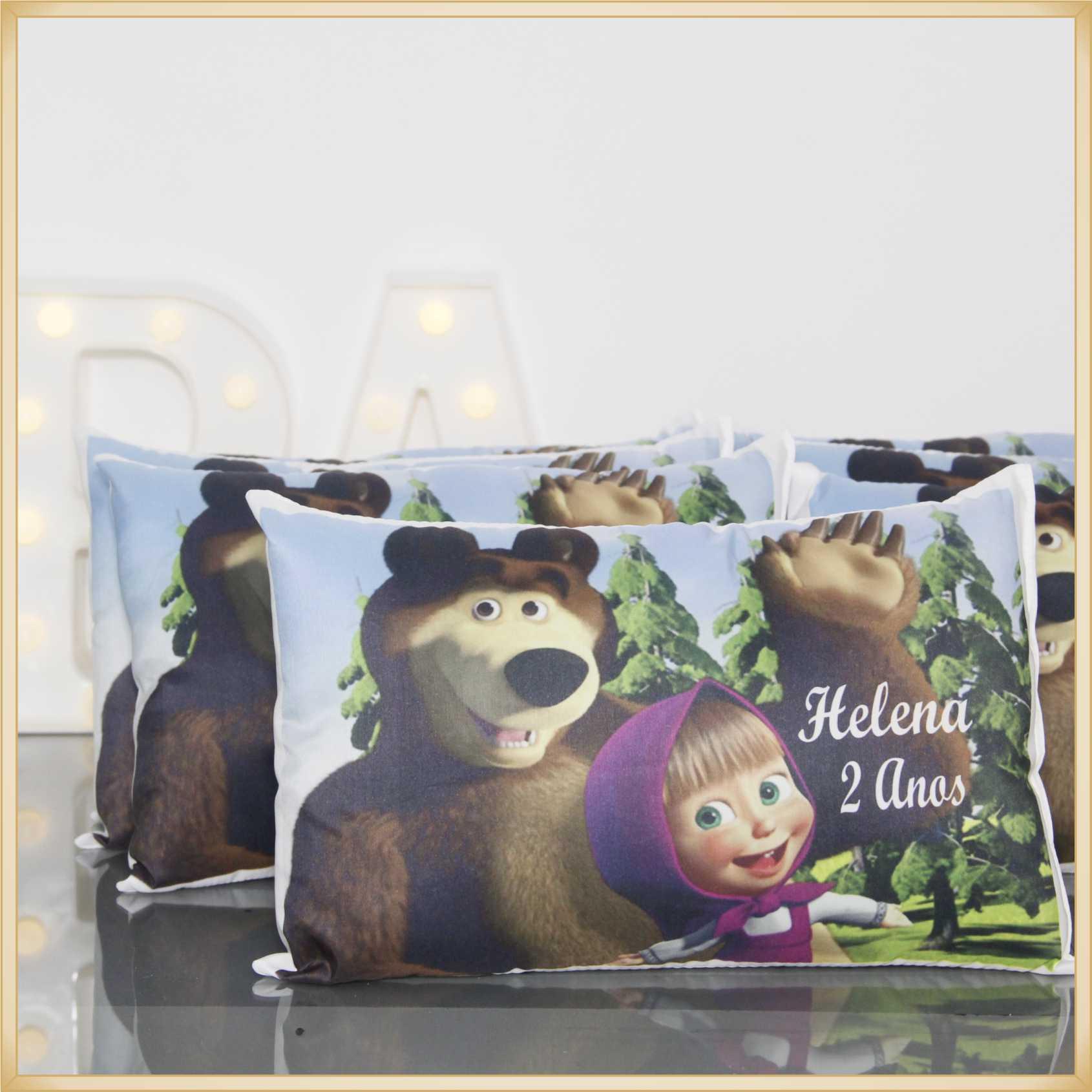 Almofada personalizada lembrancinhas de aniversario infantil